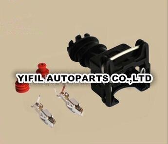 100pcs lot 282189 1 927770 3 828905 1 TYCO AMP 2 Pin Way Female EV1 Automotive