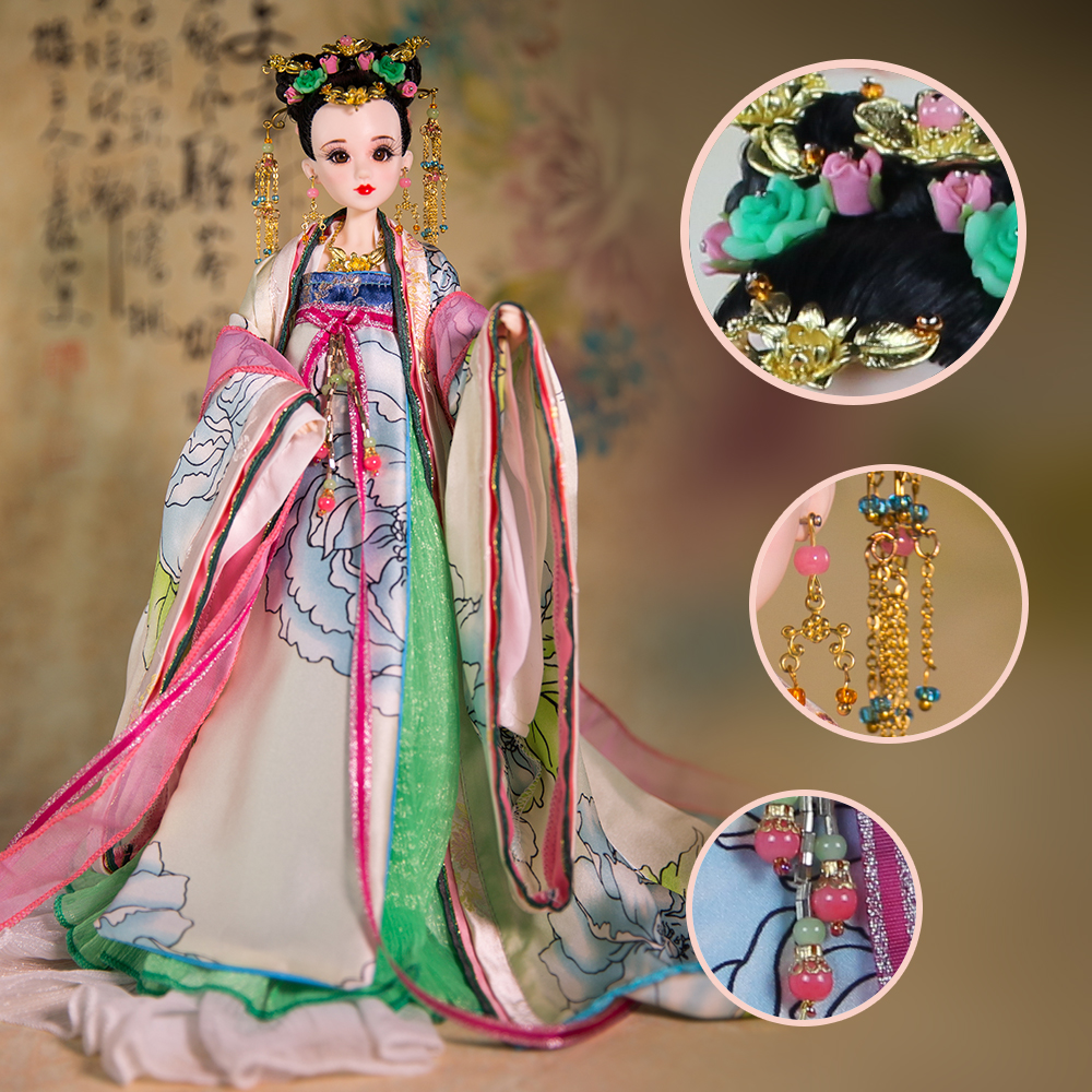 Genuine East Charm costume 1/6 like BJD Blyth doll Green Dutch 3D eye 14 joint body with makeup suit collection gift toys genuine east charm costume 1 6 like bjd blyth doll ni wu 3d eye 14 joint body with makeup high quality collection gift toys