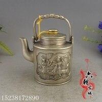 Implementos de bronce antiguo  teteras femeninas  regalos de decoración del hogar  adornos