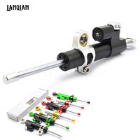 Universal Motorcycle Damper Steering Stabilizer Moto Linear Safety Control For YAMAHA FZ 6R Morphous Zuma 50FX