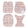 Frete Grátis 1 pcs AnAnBaby New Prints Fraldas de Pano Eco Reciclar Fraldas de Pano Do Bebê
