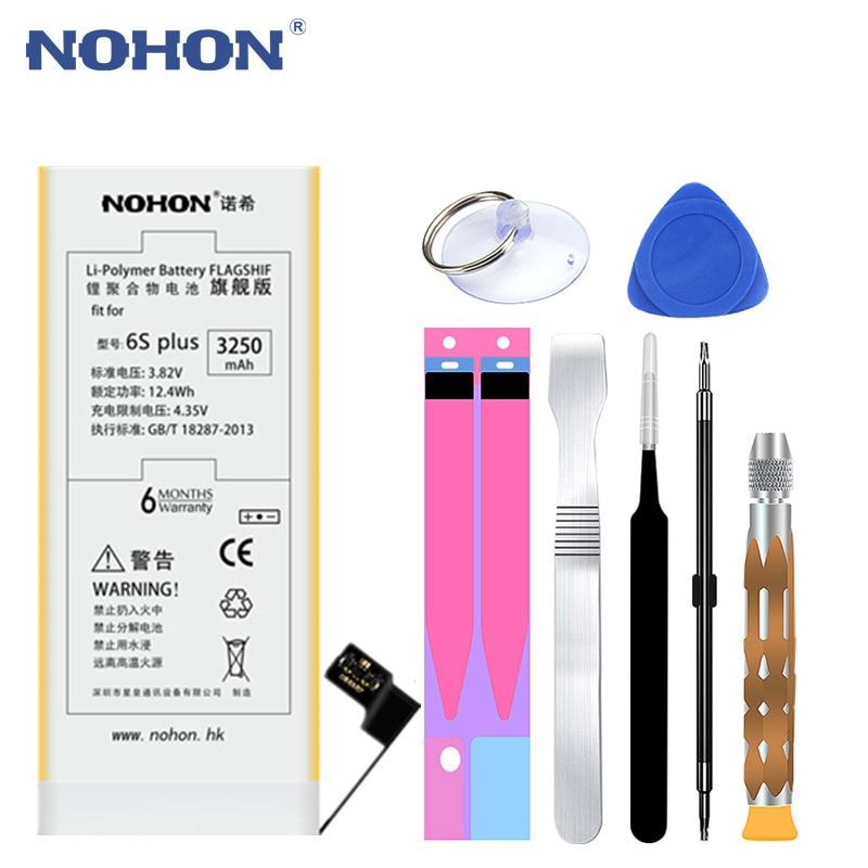 NOHON Battery For 6splus IPhone 6s 3250mah Ce Replaced Free-Repairing-Tools High-Capacity