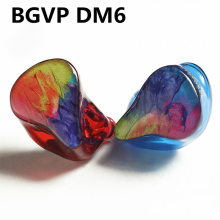 BGVP DM6 Customization 5BA Balanced Armature IEM Earphone MMCX Audiophile HiFi Monitor Earphone with 6N 8 Core OCC Cable nicehck hc5 5ba drive in ear earphone 5 balanced armature hifi resin earphone with detachable detach mmcx cable hifi earphone
