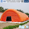 Free Sea Shipping Giant Outdoor Inflatable Tennis Tent Inflatable Dome Tent With Blowers