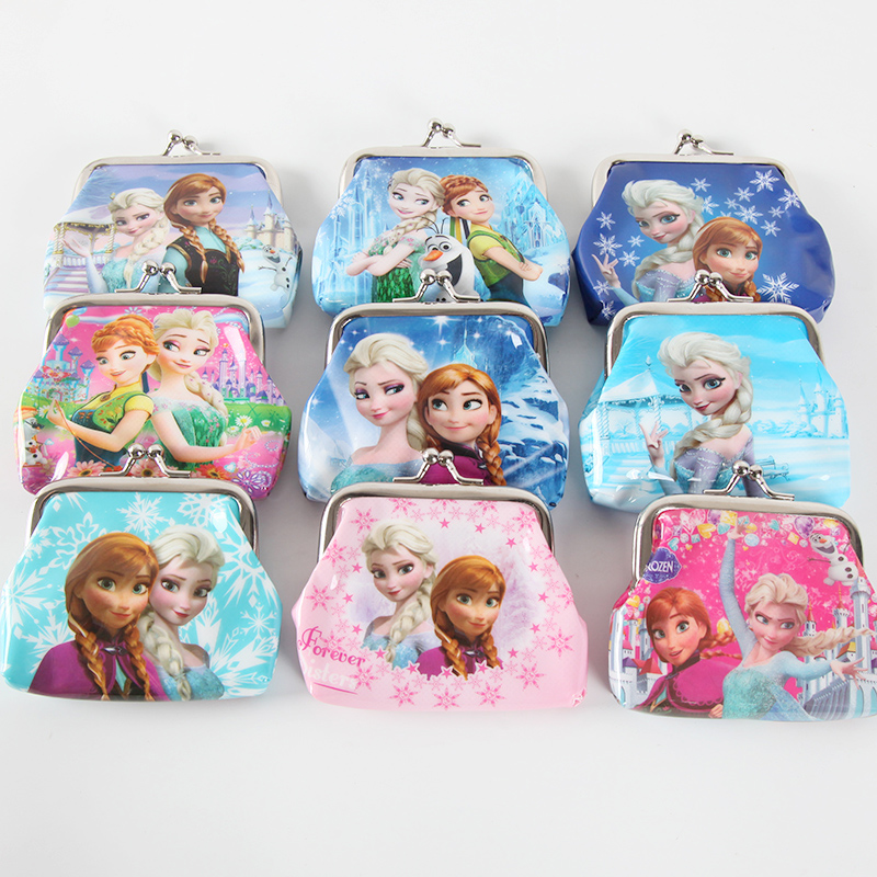 Disney Frozen Party Theme Elsa coin purse Party Gift Birthday Party Supplies For Kids Coin Bag Girl Gift Handbag