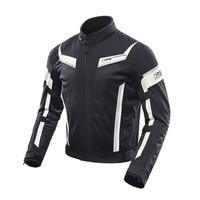 DUHAN Motorcycle Jacket Motocross Mesh Moto Racing Riding Jacket Motorcycle Protective Gear Breathable Clothing Moto