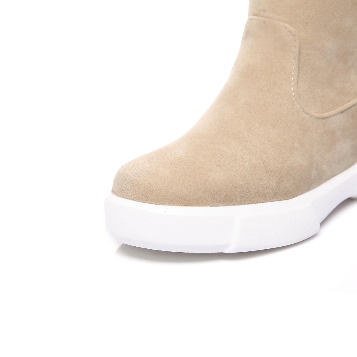 Verde Zapatos Bajo Beige verde Fathion Mediados Negro Botas De Mujeres Partido Y negro Es Albaricoque Primavera Vestido Becerro Tacón 2019 Otoño Uq8CZBxnC
