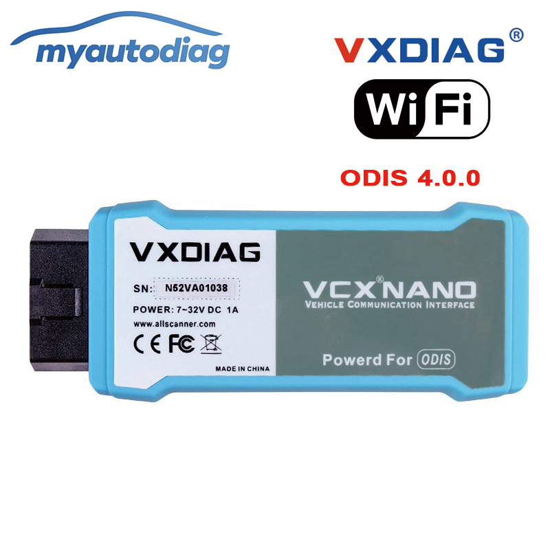 Promotion VXDIAG 5054 WIFI Version ODIS 4.0.0 Professional Diagnostic tool For Audi/VW/Skoda/Seat Better Than VAS5054 2017 newest vxdiag vcx nano scanner for land rover and jaguar 2 in 1 with software ssd v145 updatable wifi diagnostic tool