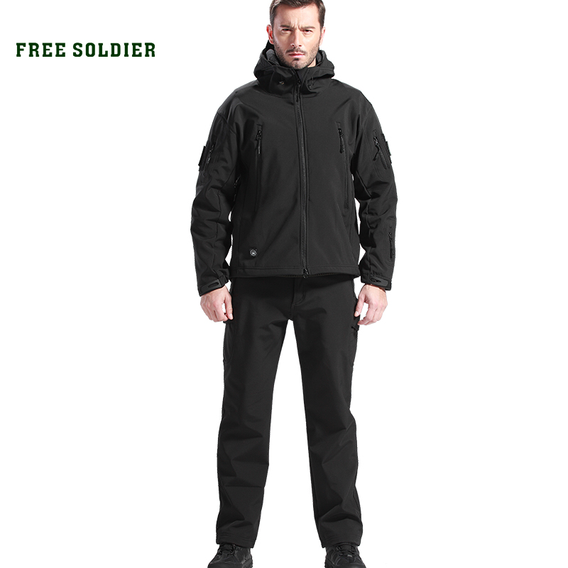 Pant Free-Soldier Clothing-Sets Jacket Hiking Outdoor Hunting Tactical Waterproof Camping