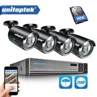 3 в 1 4CH 1080 P система безопасности, AHD, DVR NVR CCTV Системы 2.0MP 3000TVL защита от атмосферных воздействий Камера AHD H видео Камеры Скрытого видеонаблюден