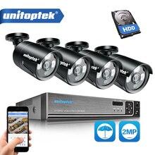 3 в 1 4CH 1080 P система безопасности, AHD, DVR NVR CCTV Системы 2.0MP 3000TVL защита от атмосферных воздействий Камера AHD-H видео Камеры Скрытого видеонаблюдения комплект