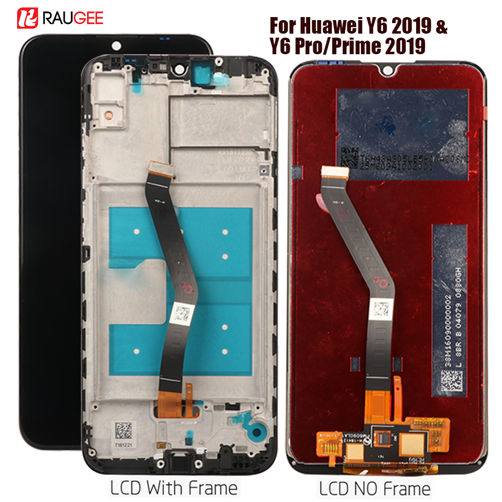 Display For Huawei Y6 2019 Lcd Touch Screen Assembly Replacement For Huawei Y6 Prime 2019 Display MRD-LX1F, LX1,LX2 Tested Lcd