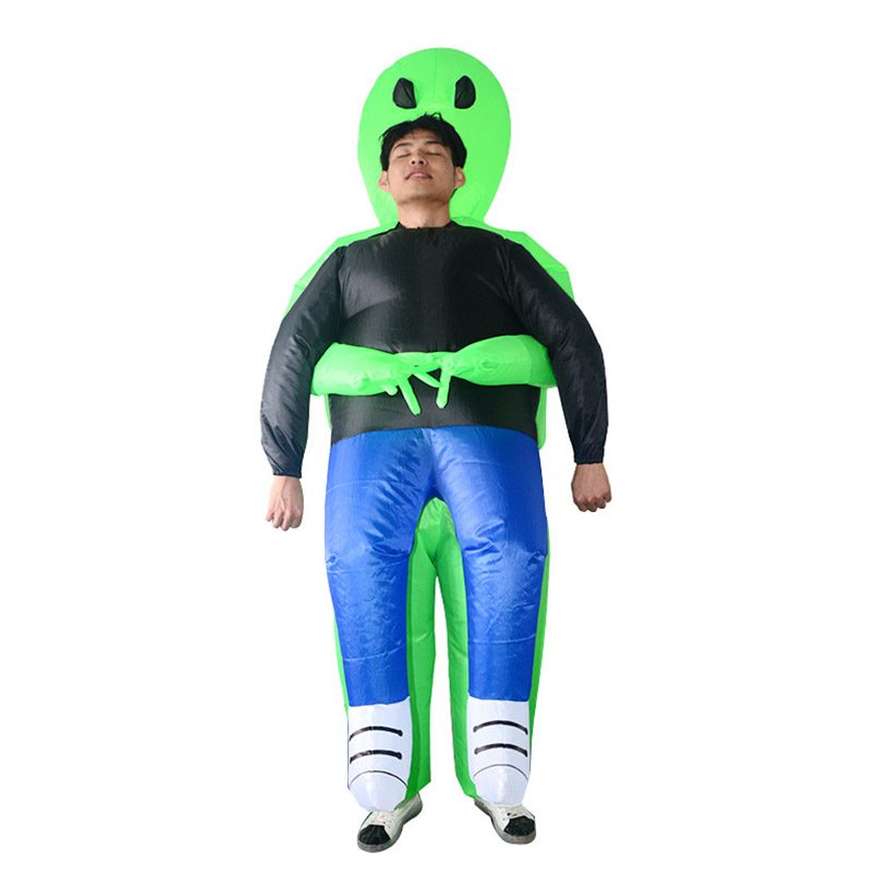 Inflatable Cosplay Ghosts Party Funny Explosion Ride on Clothes Swear Performance Costumes Outdoor Toys Christmas Gift