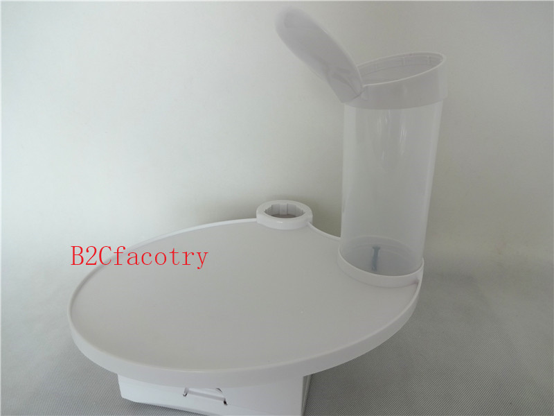 ФОТО Dental tray Disposable Cup Storage Holder paper tissue box for Dental Chair