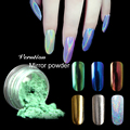 Verntion Acrylic Powder  Gold Silver Powder Nail Art Sequins Chrome Mirror Powder Holographic Powder Nail Glitter