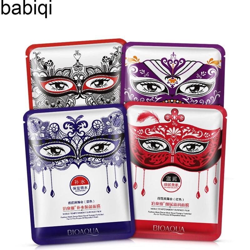 מסכת עטוף maquiagem קוסמטיקה עור יופי טיפול פנים אנטי אייג 'ינג לחות איפור מסיבה גיליון מסיכת הפנים קולגן 1 יחידות 30 גרם