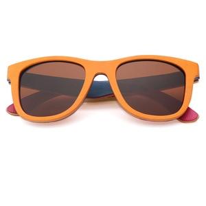 Image 5 - BerWer lunettes de soleil rétro en bois, Vintage pour femmes et hommes, accessoire de styliste, accessoire de Skateboard