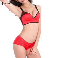 2017 New Women Sexy Bra Sets Seamless Bras BC Cup Size 32 40 Lingerie Suit Bra