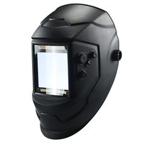 Big View 4 Arc Sensor DIN5 DIN13 Solar Auto Darkening Welding Mask Helmet Welder Cap Hood for Mig Tig Arc Welder