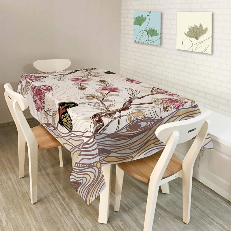 New Table Cloth Nordic Rural Home Decor Simple Retro