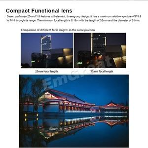 Image 3 - 7artisans 25mm / F1.8 objectif principal à toutes les séries simples pour monture E/pour Micro 4/3 caméras A7 A7II A7R A7RII X A1 X A2 G1 G2 G3