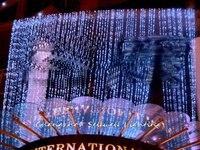 2018 реальные елочные украшения Новый! Фестиваль освещения свадебного торжества фоне украшения код 4*8 м светодио дный лампа H217