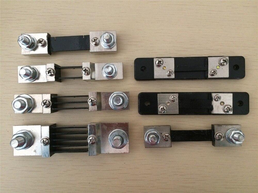 Résistance Shunt DC 30A 50A 75A 100A 200A 300A 500A 75mV pour ampèremètre analogique