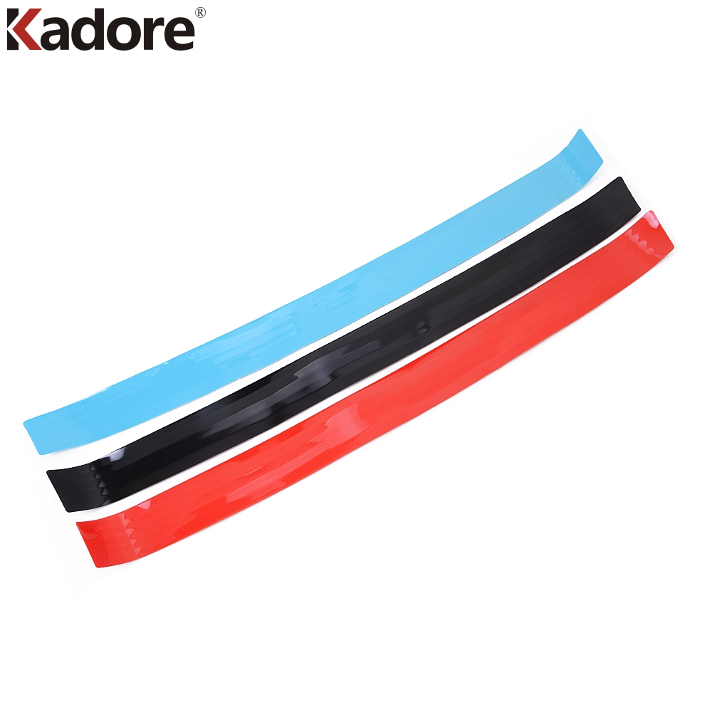 Rubber Rear Bumper Protector Door Sill Cover Trim Car Sticker For Kia Sportage Rio K2 K3 K4 K5 Optima Cerato Forte Sorento Soul fedonas top quality women keep winter warm wool snow boots genuine leather shoes woman sexy flats heels ankle boots black women