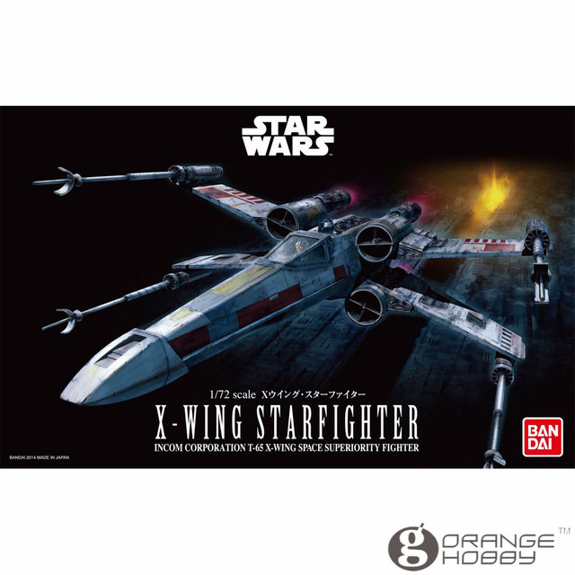 US $37 23  OHS Bandai Star War 1/72 X wing Starfighter Assembly Model Kits  oh-in Model Building Kits from Toys & Hobbies on Aliexpress com   Alibaba