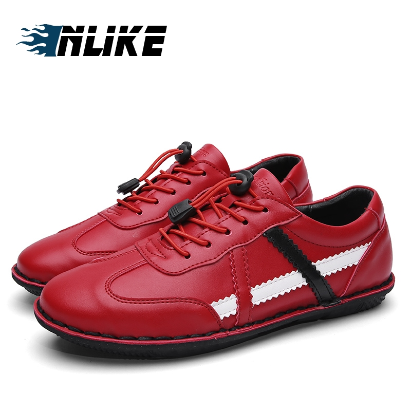 02bf4c251 INLIKE marca hombre para hombres adultos zapatos primavera otoño Casual  encaje populares zapatillas calzado impermeable en Calzado casual de hombre  de ...