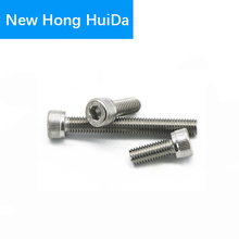 DIN912 Hex Head Socket Cap Screws Hexagon Thread Metric Machine Allen Bolt 304 Stainless Steel M3