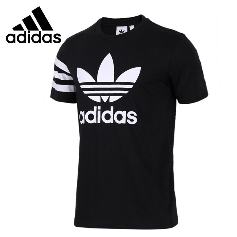 Original New Arrival 2018 Adidas Originals Mens T shirts short sleeve Sportswear-in Running T-Shirts from Sports & Entertainment on AliExpress
