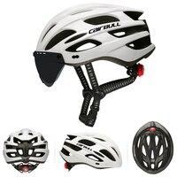 Mtb 산악 도로 자전거 헬멧 22 통풍구 자전거 초경량 자전거 헬멧 안전 빛 이동식 바이저 고글
