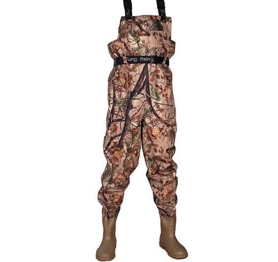 Size 39 fishing pants boot foot fishing waders stocking for Fly fishing pants