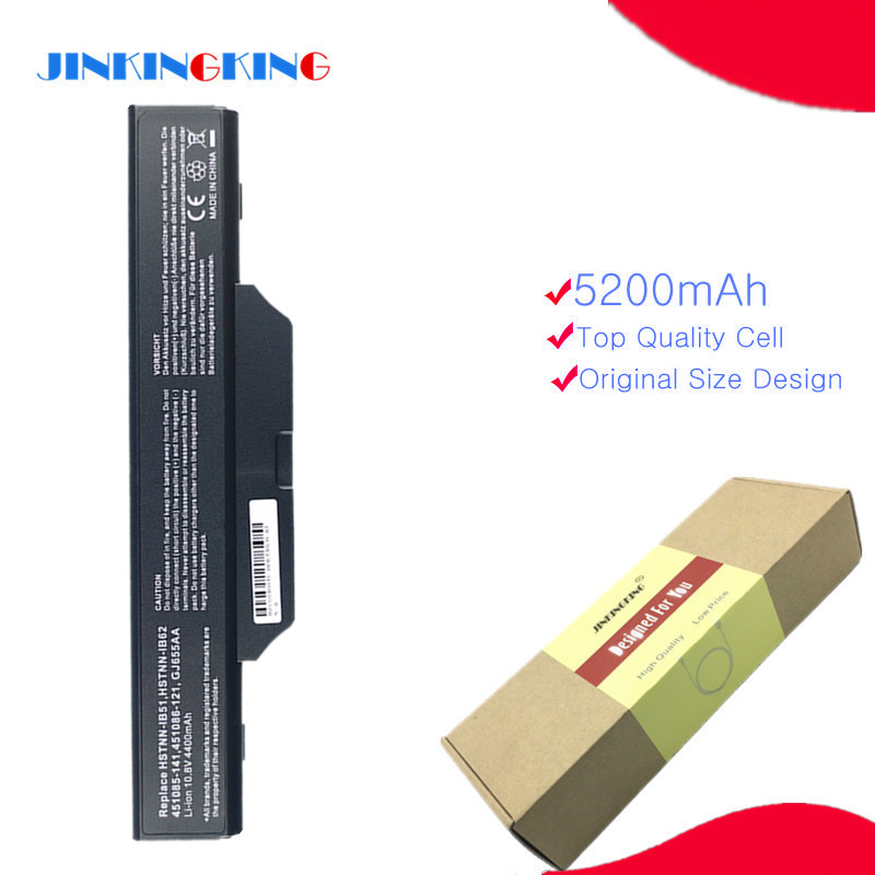 New Laptop Battery For <font><b>HP</b></font> 550 6720 6720s 6730s 6735s 6820 <font><b>6820s</b></font> 6830 HSTNN-IB51 HSTNN-IB52 image