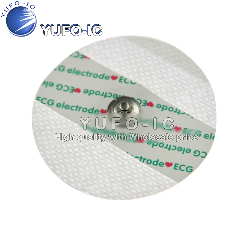 ECG Machine Accessories ECG Electrode Sheet Adult Electrode Chip Non-woven Electrode ECG Adhesive Patch Disposable