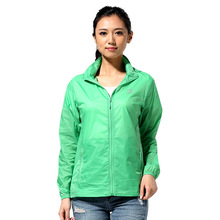 2016 womens running jackets anti-UV sun protection light skin coat clothing for jogging sports JL5040