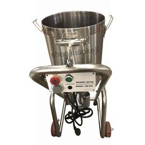 220v 1500w из нержавеющей стали Большой измельчитель для мяса, овощей, резак для резки, коммерческий измельчитель для пищевых продуктов 32L