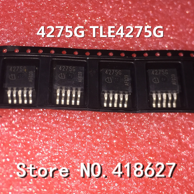 10PCS/LOT 4275G TLE4275G TO263 TO-263 Linear regulators automotive computer board engine car chip