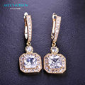 High Quality Rhinestone Earrings Classy Special Design Brincos Bijuterias Bridal Jewelry Delicate Gift For Ladies Lembrancinhas