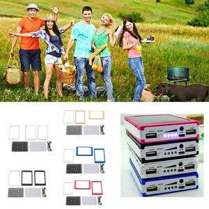 Image 4 - Dual USB LED PCBA Printplaat Solar Power Panel Home DIY Zonnepaneel Bank 18650 Batterij DIY Thuis Draagbare Oplader