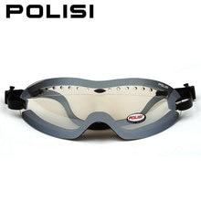 2bf255dbf647 POLISI Men Women Winter Ski Snow Goggles Clear Lens Snowboard Skate Skiing  Glasses UV Protective Anti-Fog Snowmobile Eyewear