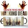 The Walking Dead Кружки Кофе Чай кубок Молоко Горячий Холодный Теплочувствительная изменение Цвета Керамическая Кружка