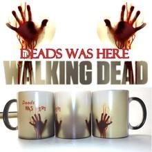 The Walking Dead Tassen Kaffee Tee Milch tasse Heiß Kalt Wärmeempfindlicher farbwechsel-keramischer Becher