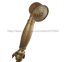 Antique Brass Classical Telephone Hand Held Shower Head Bathroom replacement handhand shower Nhh004