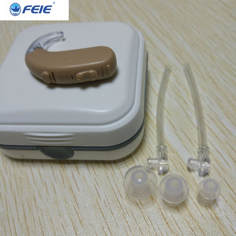 medical headset Hearing Aids Wholesale behind ear digital  Hearing Aid Amplifier  headphone deaf s-303 Dropshipping