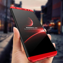 360 Degree Full Cover Case For Huawei Nova 2i Case With Tempered Glass Luxury Plastic Case For Huawei Nova 2i Nova2i Phone Bag стоимость
