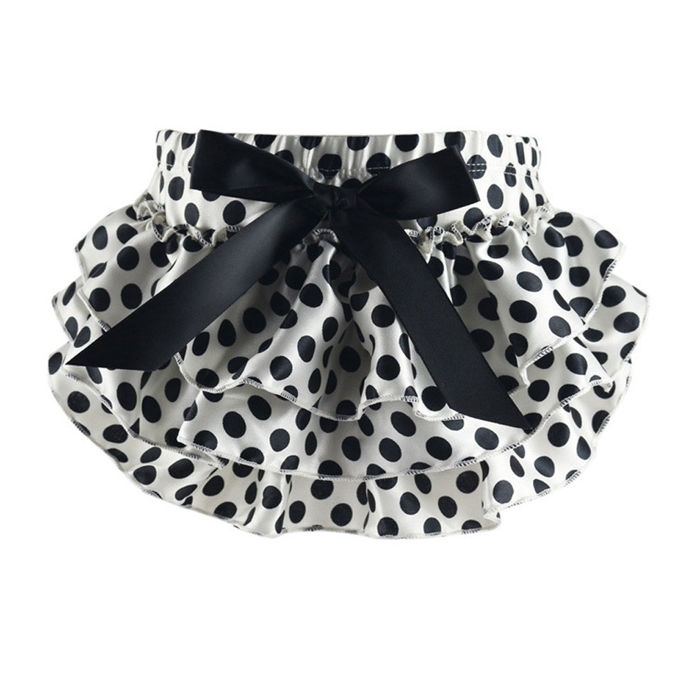 Fashion Cute Baby Ruffle Ball Gown Skirt Bloomers Layers Diaper Cover Flower Shorts Skirts NEW #4323