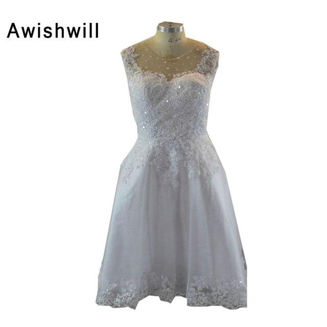 Cheap Little White Dress Sleeveless Applique Beadings Satin ...