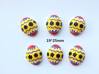 Free Shipping! Flat back Resin Kawaii eggs  ,Resin Cabochons for Phone Decoration ,Children's hair decoration  DIY